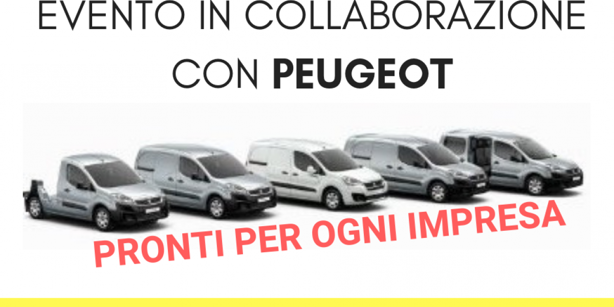 EVENTO IN COLLABORAZIONE CON PEUGEOT
