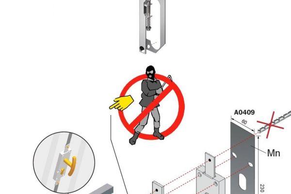 cilindri di sicurezza per basculanti
