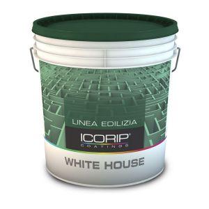 WHITE HOUSE  Bianco 14 lt Idropittura lavabile, ottima qualità, idrorepellente