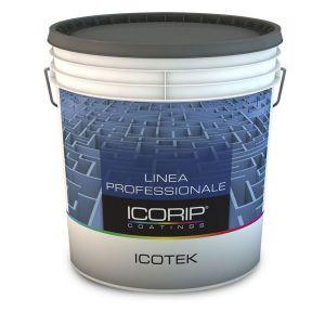 ICOTEK Bianco 5 lt Idropittura lavabile, super coprente, specifica per il trattamento del cartongesso