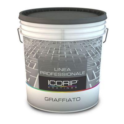 Graffiato è un rivestimento plastico spatolato ad effetto rigato