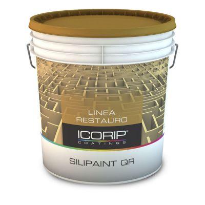 SILIPAINT QR BIANCO 5 LT Idropittura murale satinata a base di resine silossaniche, idrorepellente