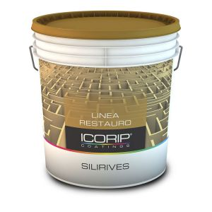 SILIRIVES BIANCO  5 KG Rivestimento murale spatolato, a base di resine silossaniche, idrorepellente e permeabile al vapore