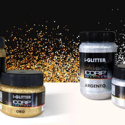 Glitter per l'idropittura