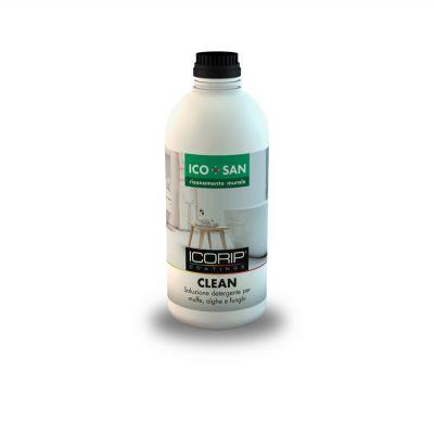 Soluzione detergente per la pulizia da muffe, funghi, alghe, ecc.