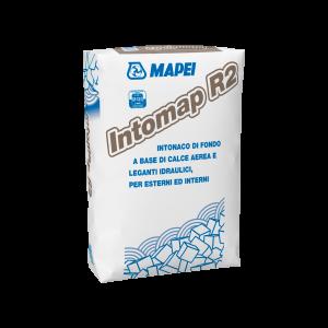 INTOMAP R2 Intonaco di fondo a base di calce aerea e leganti idraulici per esterni ed interni
