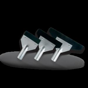 Raschietti in metallo cm. 15 per asta telescopica