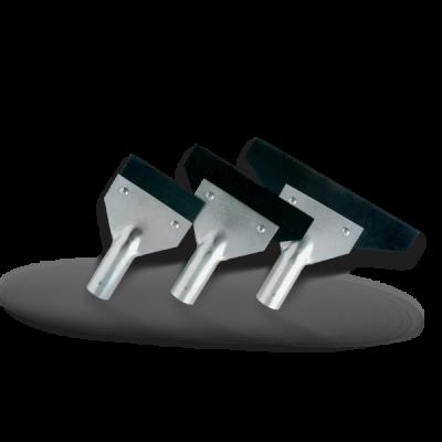 Raschietti in metallo per asta telescopica