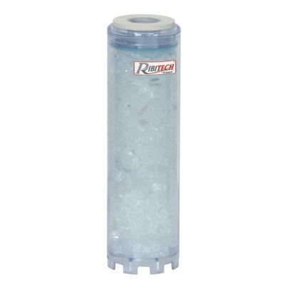 Cartuccia filtrante anticalcare ai sali polifosfati per protezione degli elettrodomestici