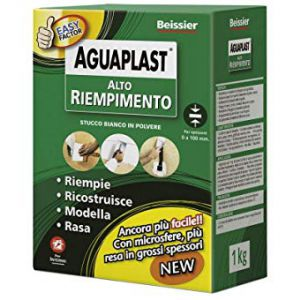 Alto Riempimento 1 KG  polvere Stucco per riempire, livellare e rasare in alti spessori
