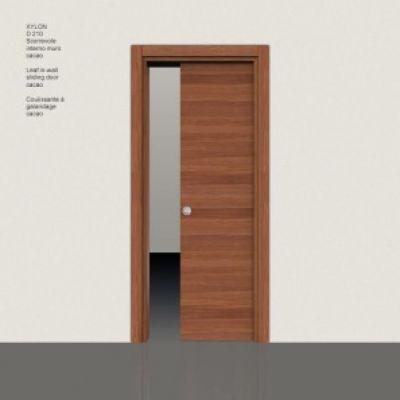 Porta Xylon D210 scorrevole interno muro cacao