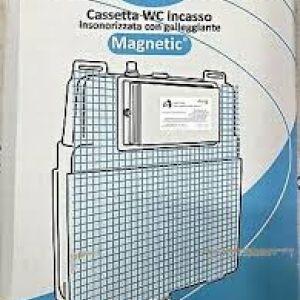 CASSETTA PER WC - DA MURO - PER CARTONGESSO - CON O SENZA TELAIO