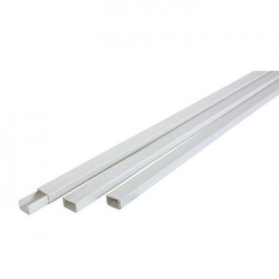 Canaline bianche per cavi elettrici, disponibili in varie misure