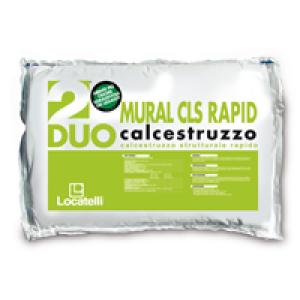 MURAL CLS RAPID è un calcestruzzo rapido pronto all'uso