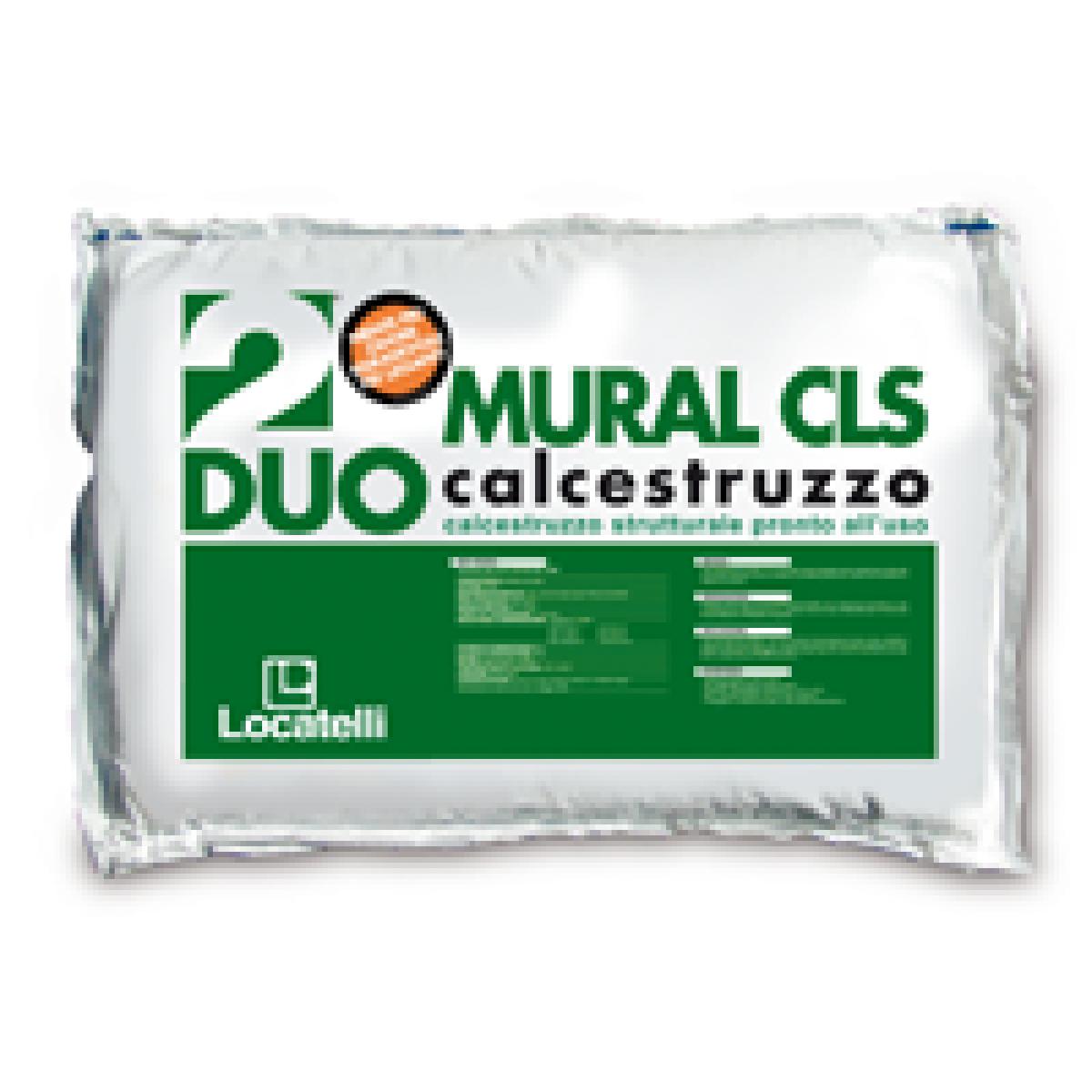 Calcestruzzo MURAL CLS predosato viene impiegato come calcestruzzo strutturale