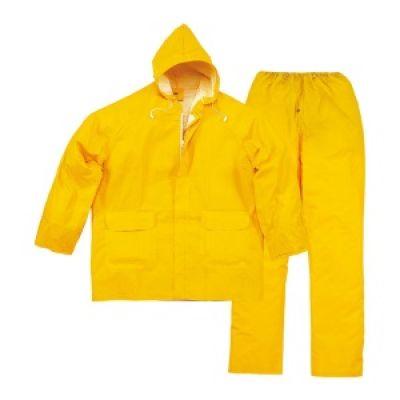 Impermeabili completi di giacca e pantalone in nylon, da lavoro