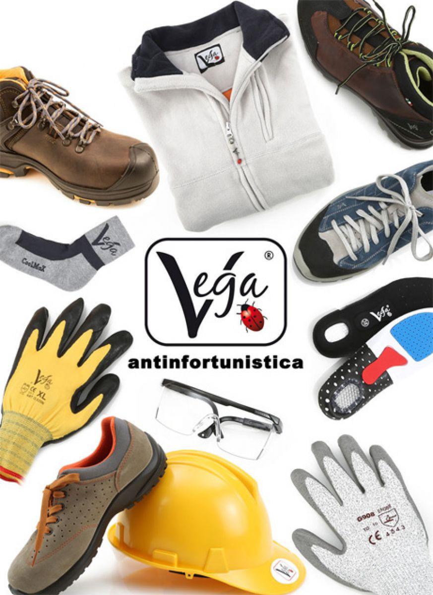 Guanti, scarpe, solette per scarpe, tute protettive, mascherine antipolvere, cartellonistica, ecc..
