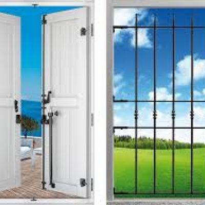 Inferiate, sistemi per blindature delle persiane, blocca finestre ì, ecc...