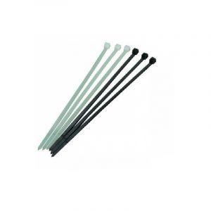 Fascette cablaggi colore trasparente, nero, verde, disponibili in varie lunghezze