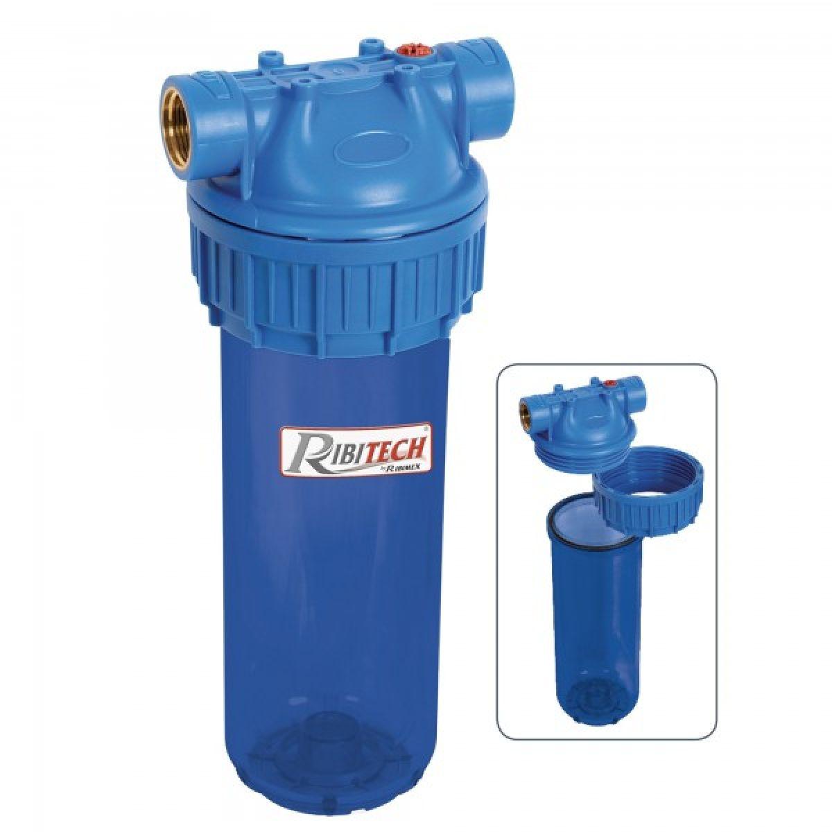 Filtro 3 pezzi da montare sull'alimentazione d'acqua