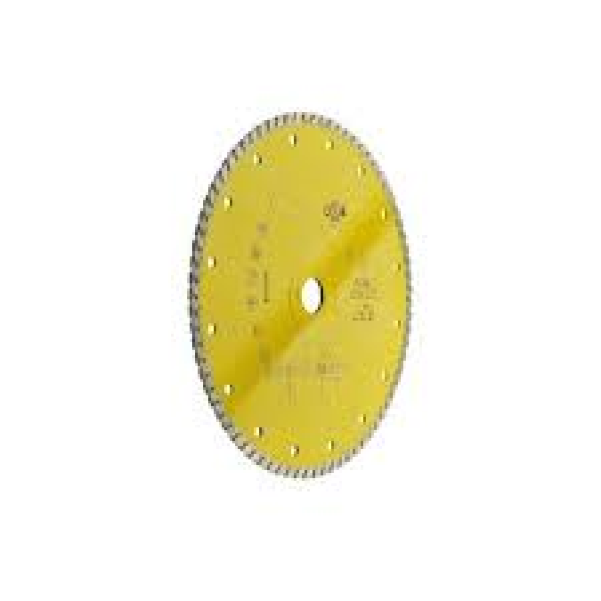Cer giallo disco per il taglio delle ceramiche più dure