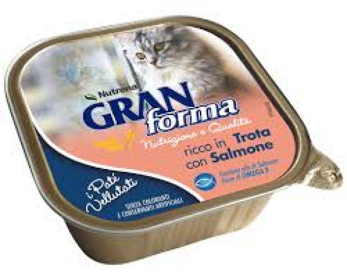 GRAN FORMA CAT - PATE DA 100 GR - TROTA SALMONE