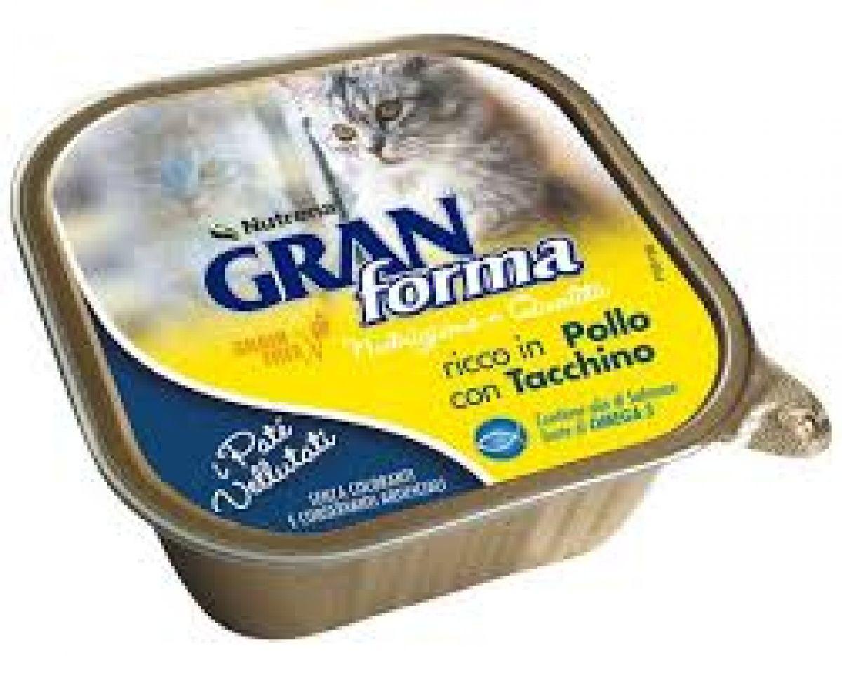 GRAN FORMA CAT PATE - 100 GR - POLLO E TACCHINO