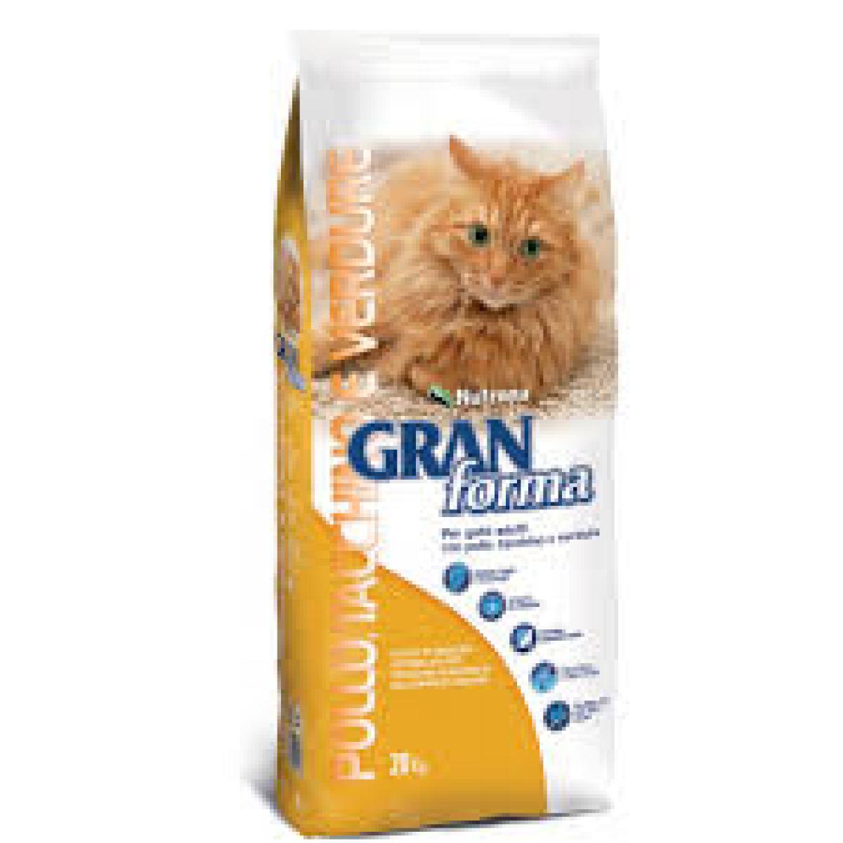 GRAN FORMA CAT - CROCCHETTE DA 2 KG - POLLO TACCHINO VERDURE-
