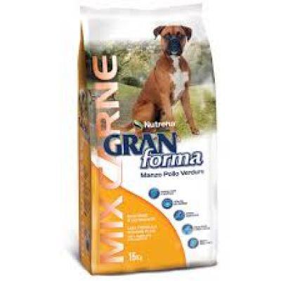 GRAN FORMA DOG - MANZO POLLO VERDURE- DA 15 KG
