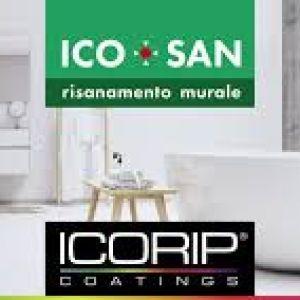 linea pitture da interno ad effetto risanante, per ambienti umidi soggetti a muffe (bagni, cucine,ecc...)