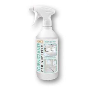 IGIEN 20 TOP Flacone da 0,75 litri con spruzzatore - Detergente igienizzante profondo ad azione prolungata, con cloro attivo