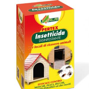 INSETTICIDA DISINFETTANTE PERTEX 100 ml. ideale per locali di ricovero animali