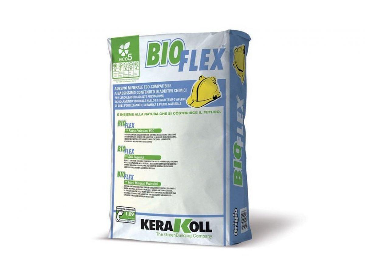 Bioflex, adesivo per l'incollaggio ad alte prestazioni di ceramiche e pietre naturali
