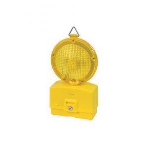 Lampeggiatori a led luce gialla per cantieri