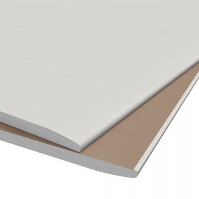 Lastra cartongesso bianca spess 9,5mm dim. 120x200 cm