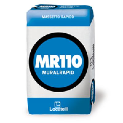 Il MASSETTO MR110 MURALRAPID, viene impiegato nella realizzazione di massetti ad essiccazione medio-rapida in interno ed esterno