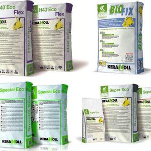 Prodotti chimici per edilizia: collanti, rasanti, impermeabilizzanti, ecc...