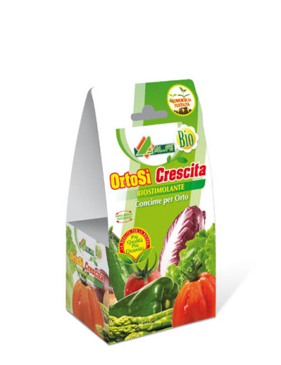ORTOSI' CRESCITA Biostimolante 100 ml specifico per lo sviluppo e la crescita delle piante