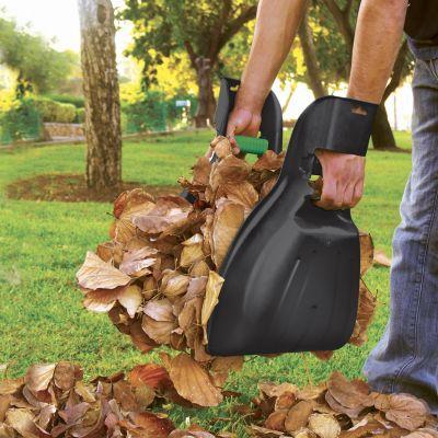 Set di 2 palette per raccogliere le foglie, in plastica ultraleggere e maneggevole