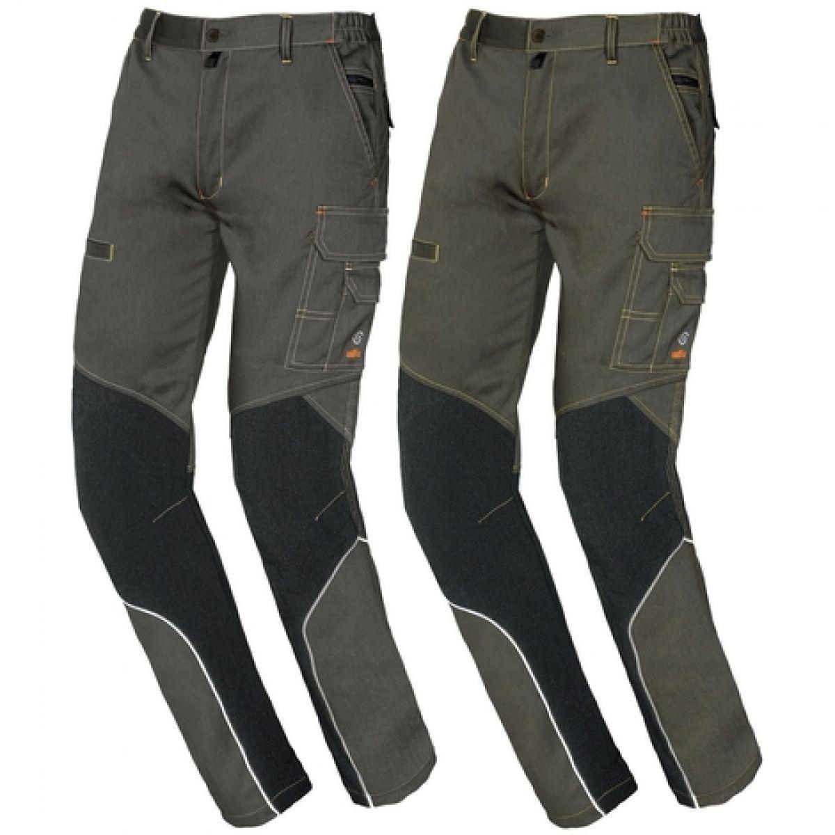 Pantaloni da lavoro elasticizzato multitasche Issa