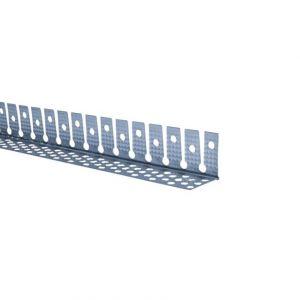 Paraspigolo curvabile, proezione angoli a profilo curvilineo