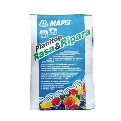 Planitop Rasa e Ripara, malta cementizia di classe R2 tissotropica fibrorinforzata a presa rapida e a ritiro controllato