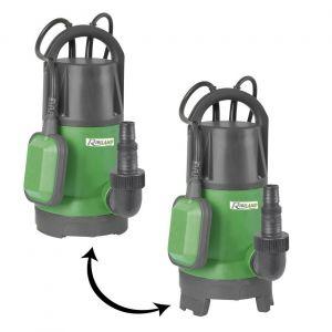 Pompa automatica sommersa per l'aspirazione di acque chiare e pioggia fino a 5mm dal suolo