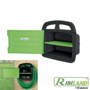 Portatubo da parete con porta accessori, pratico per avere sempre sotto mano gli utensili e gli accessori più utilizzati