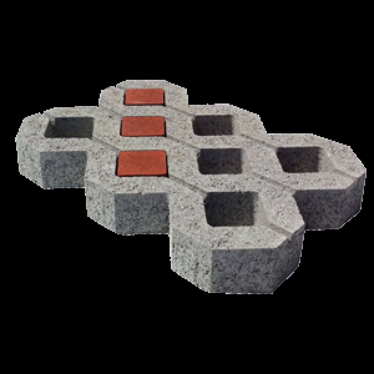 Autobloccanti in cemento per giardini e parcheggi