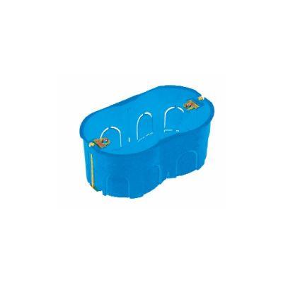 Scatole combinate da incasso pe pareti in cartongesso, disponibili a 3 posti e a 4 posti