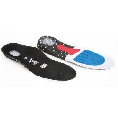 Solette per scarpe Gel Inner Sole Vega, con cuscinetto gel, traspiranti e forate sulla punta