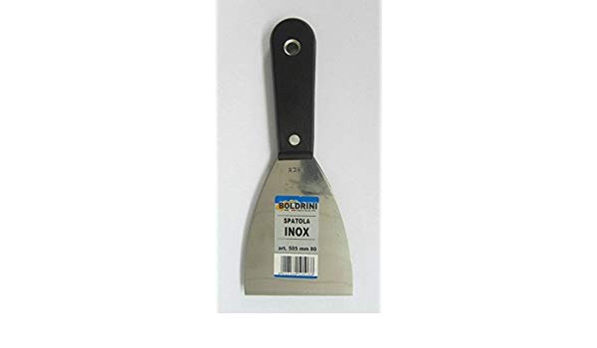 Spatola in acciaio inox per stuccatura e decorazione di qualità superiore