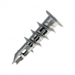 Tasselli in metallo autoperforante da cartongesso
