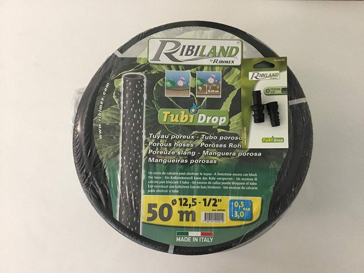 Tubi 'Drop diametro inerno 12,5mm - lunghezza 25 mt Ideale per irrigare le piantagioni e l'orto